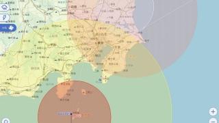 2019年9月8日台風15号-アプリ画面編