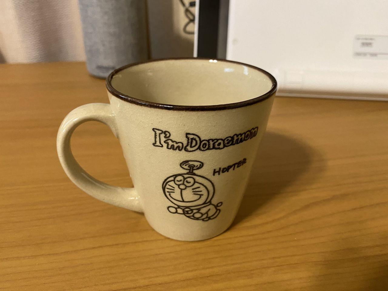 ドラえもんコーヒーカップ