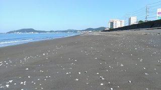 北条海岸のゴミ拾いなど