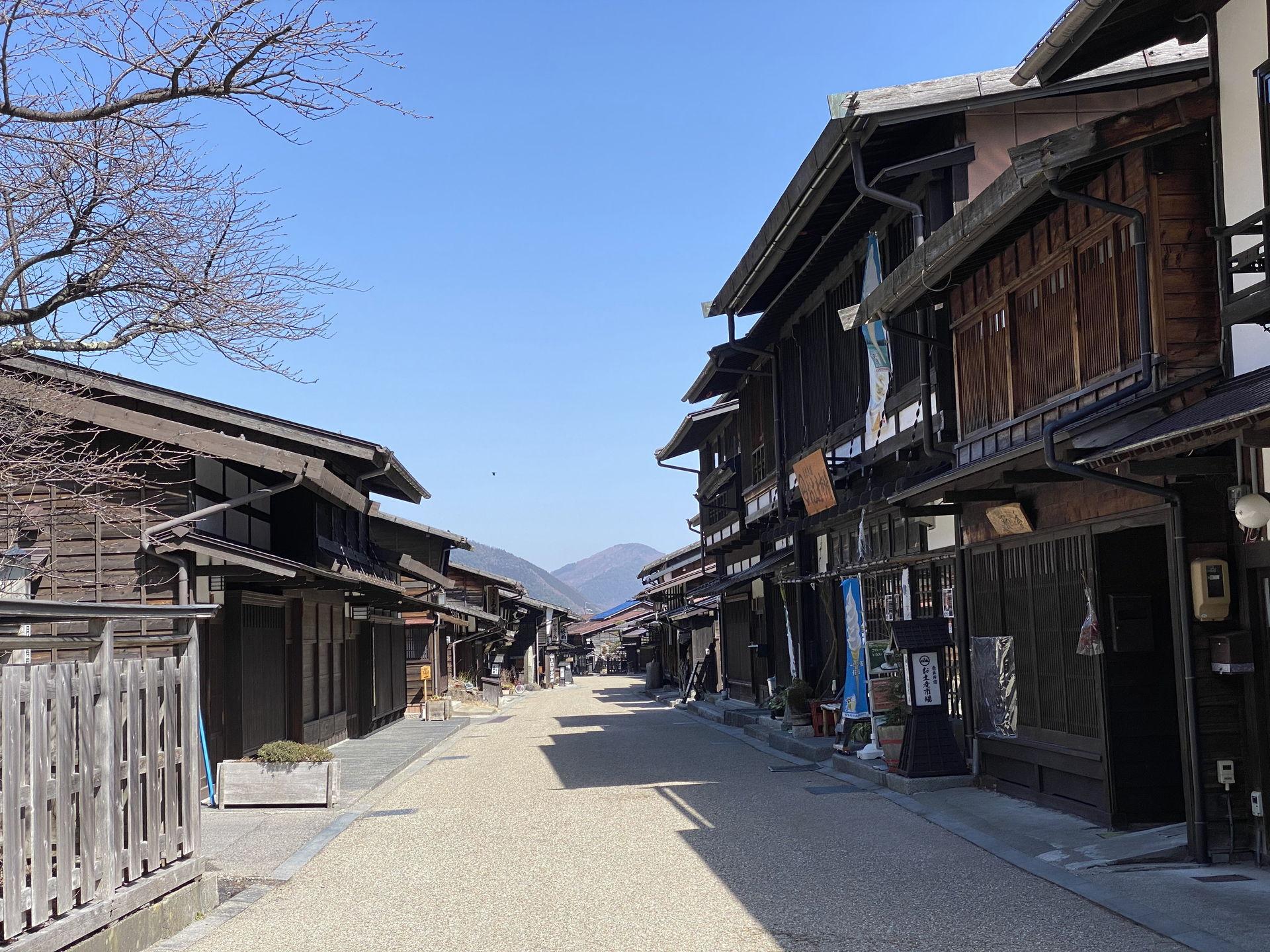 奈良井宿(塩尻)へのお散歩の旅