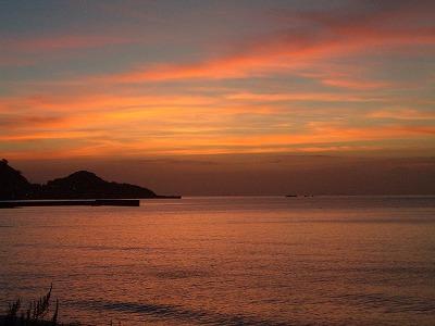 夕焼け-見物海岸より.jpg